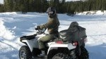 Winter ATV Tours Canmore