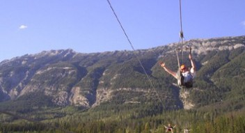 Zipline Eco Tours near Golden, Banff and Lake Louise