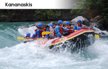 family whitewater river rafting in the canadian rockies